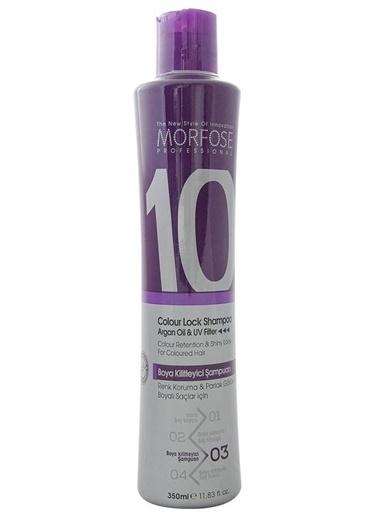 Morfose 10 Boya Kilitleyici Şampuan 350 ml Renksiz